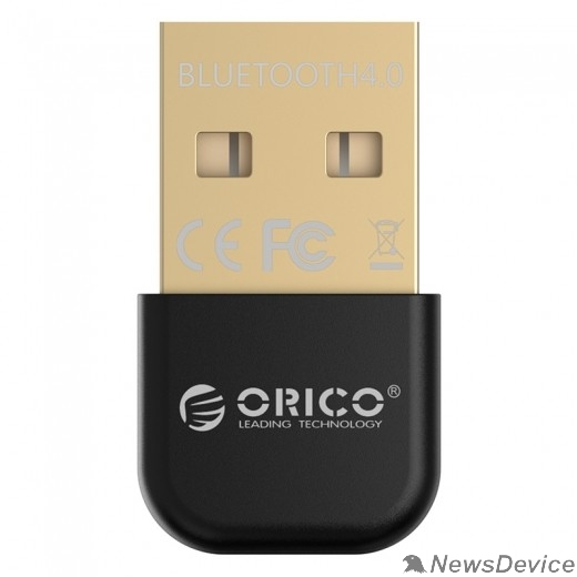 Адаптеры USB Ethernet ORICO BTA-403-BK Адаптеры USB 2.0 Bluetooth 4.0  (черный)