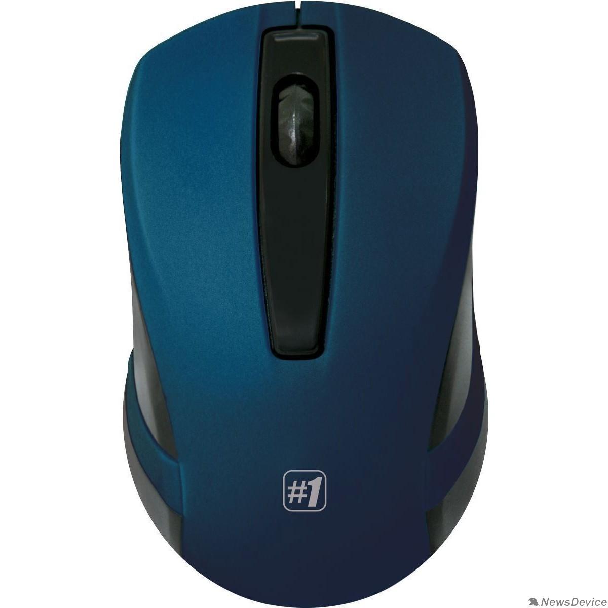 Мышь Defender MM-605 Blue USB 52606 Беспроводная оптическая мышь,3 кнопки,1200dpi