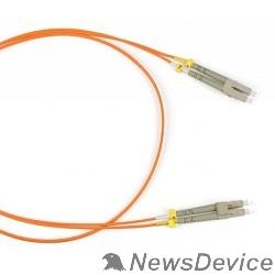 Патч-корд Hyperline FC-D2-50-LC/PR-LC/PR-H-2M-LSZH-OR (FC-50-LC-LC-PC-2M) Патч-корд волоконно-оптический (шнур) MM 50/125, LC-LC, 2.0 мм, duplex, LSZH, 2 м