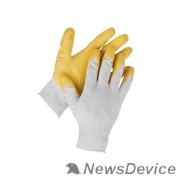 """Перчатки Перчатки STAYER """"MASTER"""" MaxSafe трикотажные, обливная ладонь из латекса, х/б, 13 класс, L-XL, 10 пар 11408-H10"""