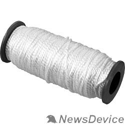 Шнуры и фалы СИБИН Шнур кручёный капроновый, диаметр - 2 мм, длина - 50 м (катушка), 70 кгс 50527