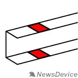 LEGRAND Кабель-каналы, аксессуары Legrand 010696 Накладка на стык профиля - на защелках - для односекционных кабель-каналов DLP 50х105 - белый