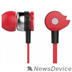 Наушники и микрофоны Oklick HP-S-210 1.2м красный проводные 374405