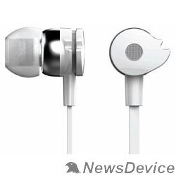 Наушники и микрофоны Oklick HP-S-210 1.2м белый проводные 374407