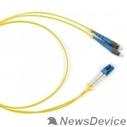 Патч-корд Hyperline FC-S2-9-FC/UR-SC/UR-H-1M-LSZH-YL Патч-корд волоконно-оптический (шнур) SM 9/125 (OS2), FC/UPC-SC/UPC, simplex, LSZH, 1 м