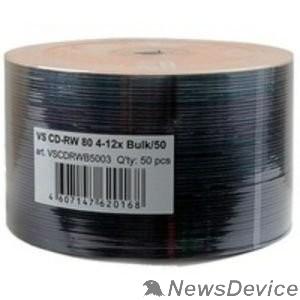 Диск Диски VS CD-RW 80 4-12x Bulk/50