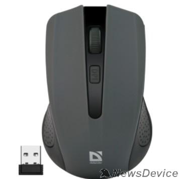 Мышь Defender Accura MM-935 Grey USB 52936 Беспроводная оптическая мышь, 4 кнопки,800-1600 dpi