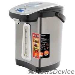 Чайник MYSTERY MTP-2450 Термопот, Мощность: 700 Вт, Объём: 4,5 л., LCD дисплей, Металлический корпус, Цвет: Чёрный.