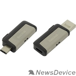 носитель информации SanDisk USB Drive 32Gb Ultra Dual SDDDC2-032G-G46 USB3.0, Black