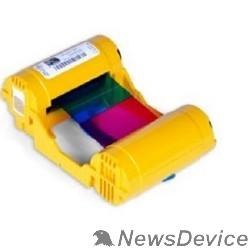 Расходные материалы Zebra 800033-340 Красящая лента YMCKO для ZXP3, 280 отпечатков