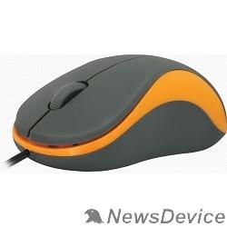 Мышь Defender Accura MS-970 серый+оранжевый, Проводная оптическая мышь, 3кнопки,100052971