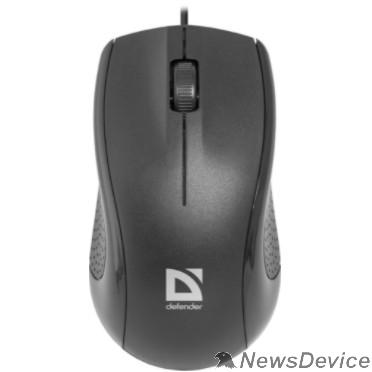 Мышь Defender Optimum MB-160 Black USB Проводная оптическая мышь, 3 кнопки,1000 dpi 52160
