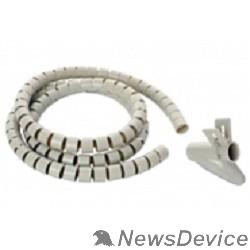 Монтажное оборудование Hyperline SHW-20 Пластиковый спиральный рукав для кабеля д.20 мм (2 м) и инструмент ST-20