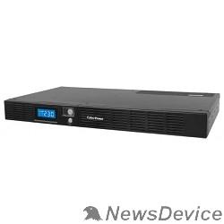 ИБП UPS CyberPower OR600ELCDRM1U black 600VA/360W USB/RS-232/SNMPslot /RJ11/45 (4+2 IEC С13)
