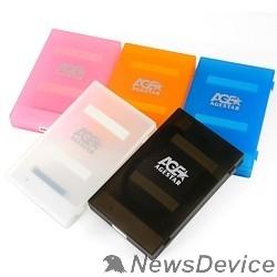 "Контейнер для HDD AgeStar 3UBCP1-6G (BLUE) USB 3.0 Внешний корпус 2.5"" SATA HDD/SSD AgeStar 3UBCP1-6G (BLUE) USB 3.0, пластик, синий, безвинтовая конструкция"
