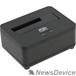 "Контейнер для HDD AgeStar 3UBT7 (BLACK) Докстанция 2,5""/3,5"" SATAIII AgeStar 3UBT7 (BLACK) USB 3.0, пластик, черная"