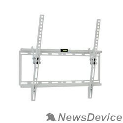 """Крепеж Kromax IDEAL-4 new white, наст. для TV 22""""-65"""", max 50 кг, 1 ст св., нак. 0°-10°, от ст. 23 мм, max VESA 400x400 мм."""