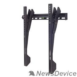 """Крепеж Kromax VEGA-12 black, наст. для TV 22""""-65"""", max 50 кг, 1 ст св., нак. 0°-8°, от ст. 42 мм, max VESA 400x400 мм."""