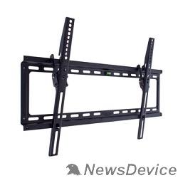 """Крепеж Kromax IDEAL-2 new black, наст. для TV 32""""-90"""", max 55 кг, 1 ст св., нак. 0°-10°, от ст. 23 мм, max VESA 600x400 мм."""