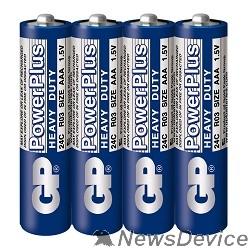 Батарейка GP 24CEBRA-2S4(24C/R03)  40/200/1000 (4 шт. в уп-ке)