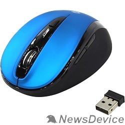 Клавиатуры, мыши Мышь беспроводная Smartbuy 612AG беззвучная, синяя, Blue LED SBM-612AG-BK