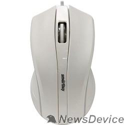 Клавиатуры, мыши Мышь проводная Smartbuy ONE 338 белая SBM-338-W