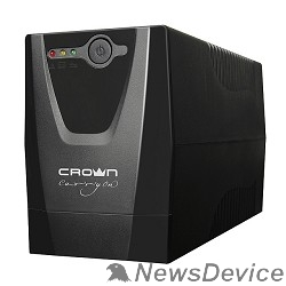 ИБП CROWN ИБП CMU-500XIEC 480 ВА / 240 Вт; Off-Line;  3 х IEC-320 , 12V/4,5AH х 1; пластик