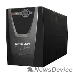 ИБП CROWN ИБП CMU-650XIEC 600 ВА / 300 Вт; Off-Line; 3 х IEC-320 ; 12V/7AH х 1; пластик