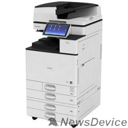 Принтер Ricoh MP C2504exSP МФУ, A3, цветной, 2Гб, 25стр/мин, дуплекс, GigaLAN, HDD250, PS, ARDF100, с девелопером, без тонера (418028)