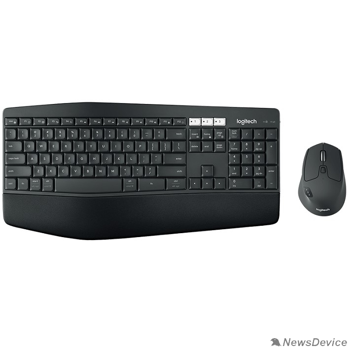 Клавиатура 920-008232 Logitech Клавиатура + мышь MK850 Perfomance Black USB