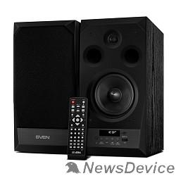 Колонки SVEN АС MC-20, чёрный (90 Вт, FM-тюнер, USB/microSD, дисплей, ПДУ, Bluetooth, Optical)