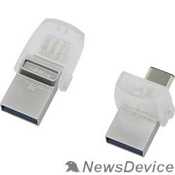 Носитель информации Kingston USB Drive 128Gb DTDUO3C/128GB silver