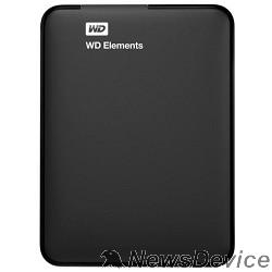 "Носитель информации WD Portable HDD 1Tb Elements Portable WDBUZG0010BBK-WESN USB3.0, 2.5"", black"