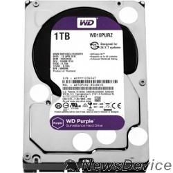 "Жесткий диск 1TB WD Purple (WD10PURZ) Serial ATA III, 5400- rpm, 64Mb, 3.5"""