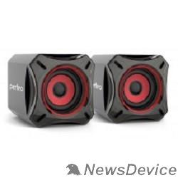 """Колонки Perfeo колонки """"CUBE"""" 2.0, мощность 2х5 Вт (RMS), чёрн, USB (PF-812) PF_4880"""