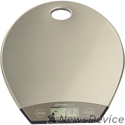 Весы FIRST FA-6403-1 Весы кухонные, электронные, сталь, 5 кг, серый