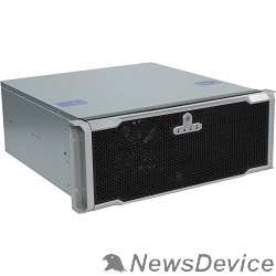 """Корпус Procase EM443D-B-0 черный 4U, глубина 430мм, MB 12""""x9.6"""" без БП"""