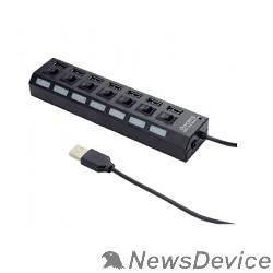 Контроллер Gembird UHB-U2P7-02 Концентратор  USB2.питание блистер