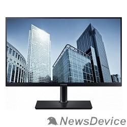 """Монитор LCD Samsung 23.8"""" S24H850QFI черный PLS LED 2560x1440 5ms 16:9 1000:1 300cd 178/178 HDMI DisplayPort"""
