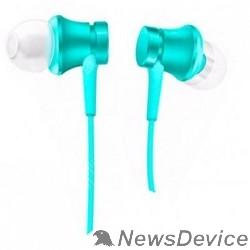 Наушники  Xiaomi Mi In-Ear Headfones Basic Blue/голубой ZBW4358TY