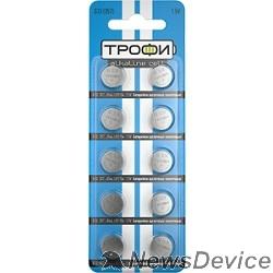 Батарейки Трофи G13 (357) LR1154, LR44 (200/1600/134400) (10 шт. в уп-ке)