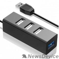 Контроллер HUB GR-339UB Ginzzu USB 3.0/2.0, 4 port (1xUSB3.0+3xUSB2.0)