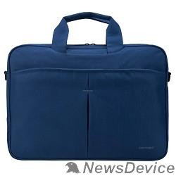 """Сумка для ноутбука Сумка Continent CC-012 Blue нейлон, до 15,6"""", синий"""