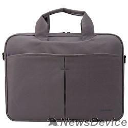 "Сумка для ноутбука Сумка Continent CC-014 Grey нейлон, до 13,3"", серый"