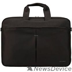 "Сумка для ноутбука Сумка Continent CC-018 BK нейлон, до 17"", черный"
