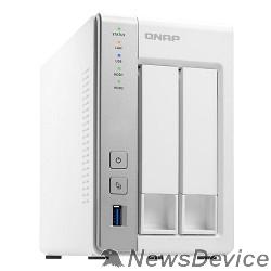Дисковый массив QNAP D2 Сетевое хранилище 2 SATA Hot-swap bay w/o HDD. Dual-core CPU AL-212 1.7GHz, 1GB DDR3 RAM, 2 x GbE