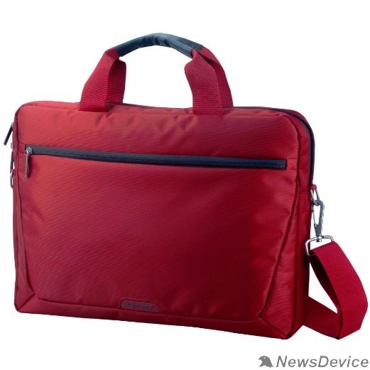 """Сумка для ноутбука Сумка SUMDEX PON-111RD (нейлон, красный до 15,6"""")"""