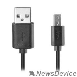 Кабель Ginzzu Кабель microUSB / USB, 1,0 м, черный (GC-401B)