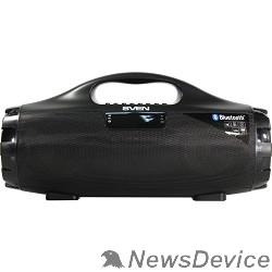Колонки SVEN PS-460, черный (18 Вт, Bluetooth, FM, USB, microSD, LED-дисплей, 1800мА*ч)