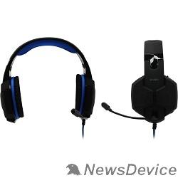 Наушники SVEN AP-U980MV Черный/синий Объёмное звучание 7.1, Длина кабеля, м -2.2, 108Дб, 32 Ом
